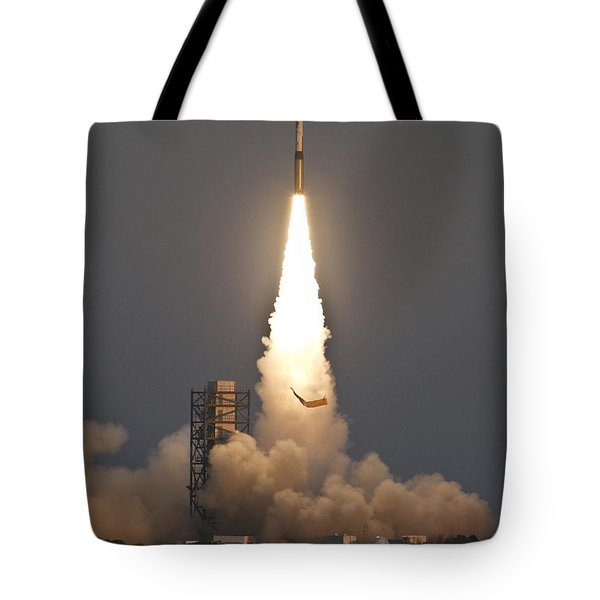 Minotaur I Launch Tote Bag by Science Source