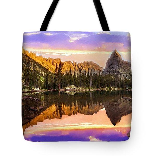 Mirror Lake Yosemite National Park Tote Bag by Bob and Nadine Johnston