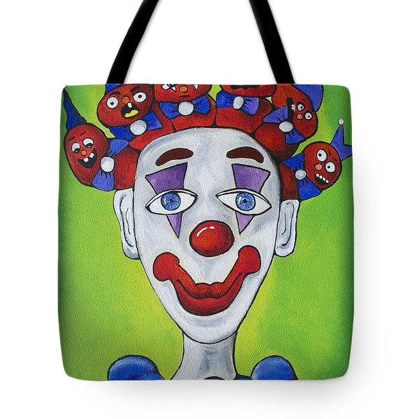 Miss.curly Clown Tote Bag by Patricia Arroyo
