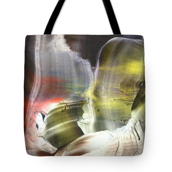 Missing Link Outside These Times Tote Bag by Cristina Handrabur