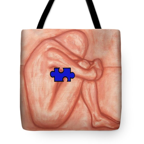 MISSING PIECE 1 Tote Bag by Patrick J Murphy