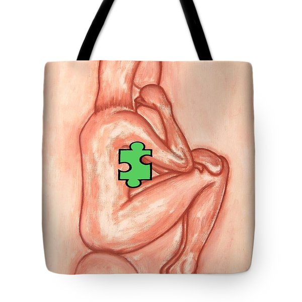 Missing Piece 4 Tote Bag by Patrick J Murphy
