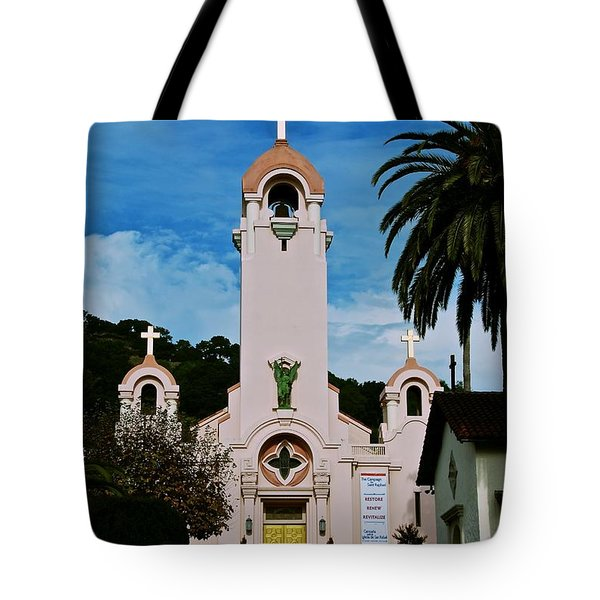 Mission San Rafael Tote Bag by Eric Tressler