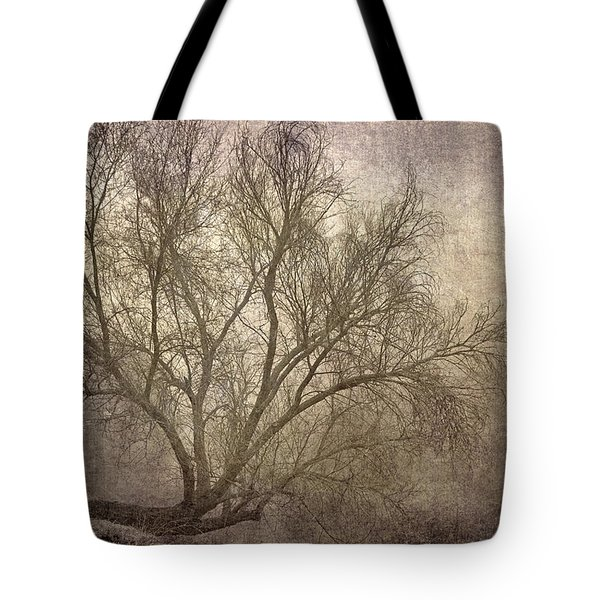 Mist Tree Tote Bag by Guido Montanes Castillo