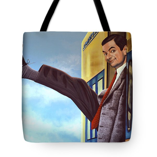 Mister Bean Tote Bag by Paul  Meijering