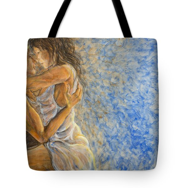 Misty Romance Tote Bag by Nik Helbig