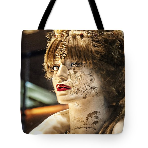 Misused Tote Bag by Chuck Staley