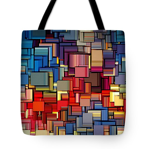 Modern Abstract Xii Tote Bag by Lourry Legarde