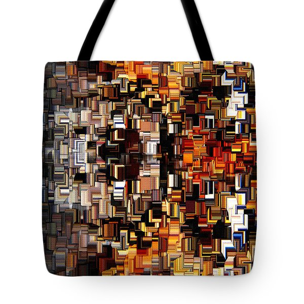 Modern Abstract Xxvii Tote Bag by Lourry Legarde