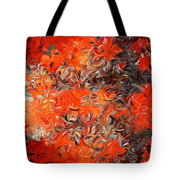 Modern Abstract Xxx Tote Bag by Lourry Legarde