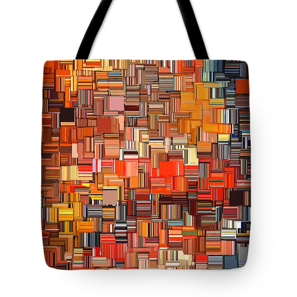 Modern Abstract Xxxi Tote Bag by Lourry Legarde