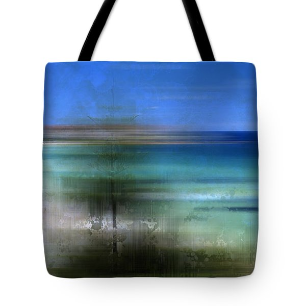 Modern-art Bondi Beach Tote Bag by Melanie Viola