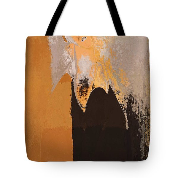 Modern From Classic Art Portrait - 01 Tote Bag by Variance Collections