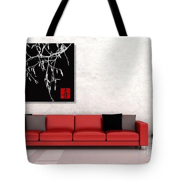 Modern Zen Design Tote Bag by Andrea Kollo