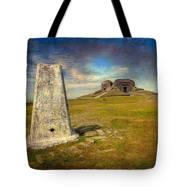 Moel Famau Tote Bag by Adrian Evans