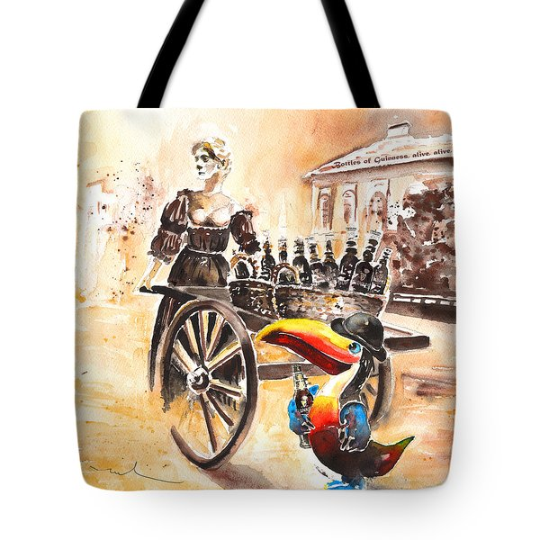 Molly Malone Tote Bag by Miki De Goodaboom