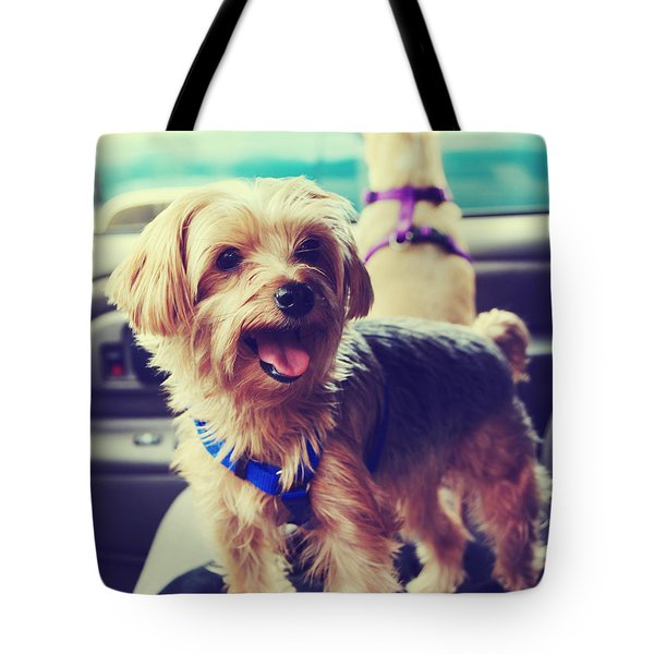 Molly's Road Trip Tote Bag by Laurie Search