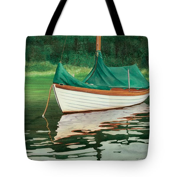 Moment of Reflection X Tote Bag by Marguerite Chadwick-Juner