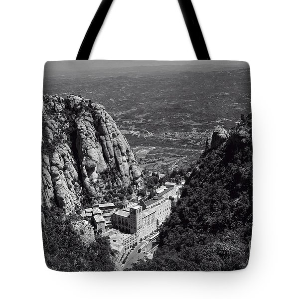 Monastery in the Valley Tote Bag by Ivy Ho