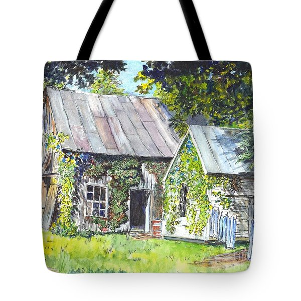 Monday Monday Not Just Any Day Tote Bag by Carol Wisniewski
