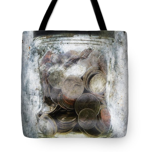 Money Frozen In A Jar Tote Bag by Skip Nall