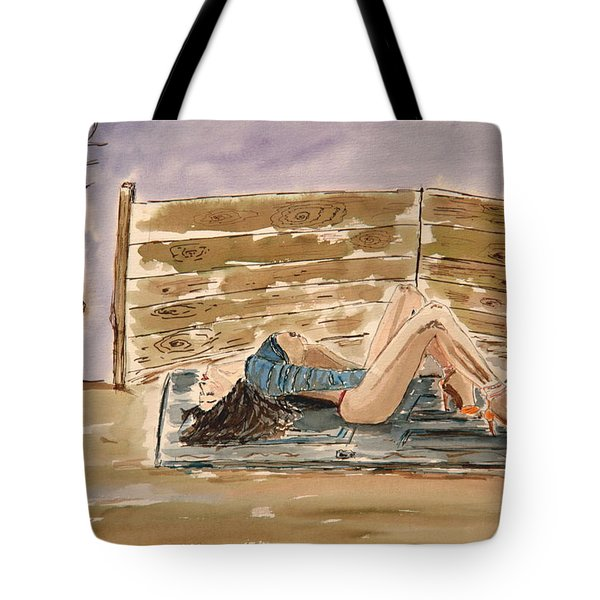 Monika Passion. Tote Bag by Shlomo Zangilevitch