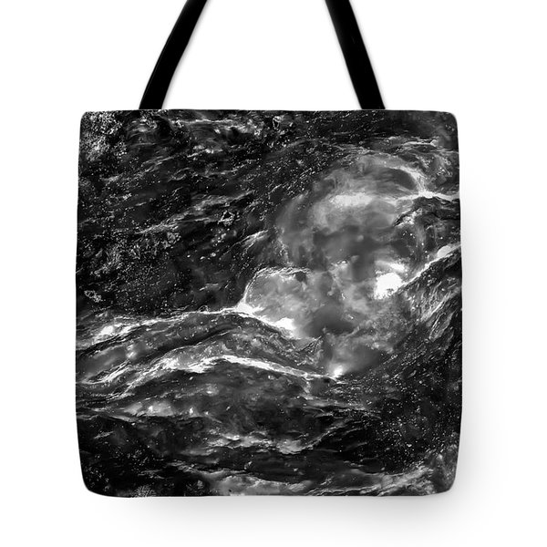 Monochrome Sea Tote Bag by  Onyonet  Photo Studios
