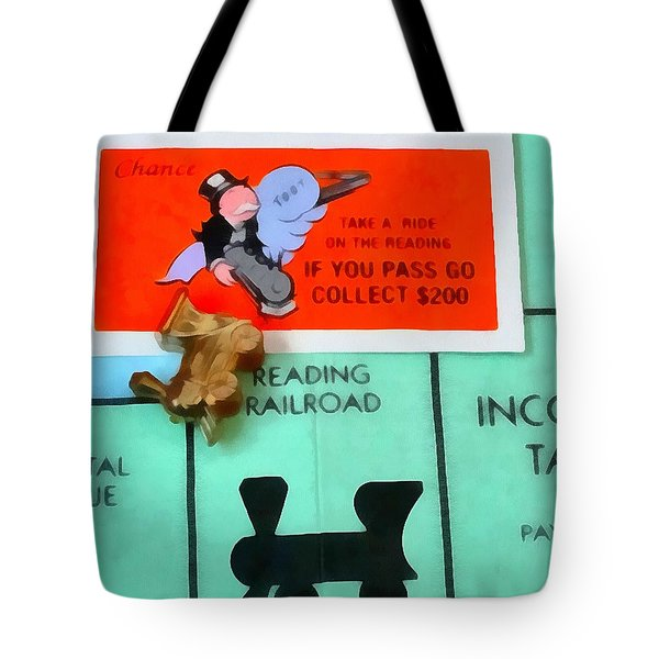Monopoly Man Tote Bag by Dan Sproul
