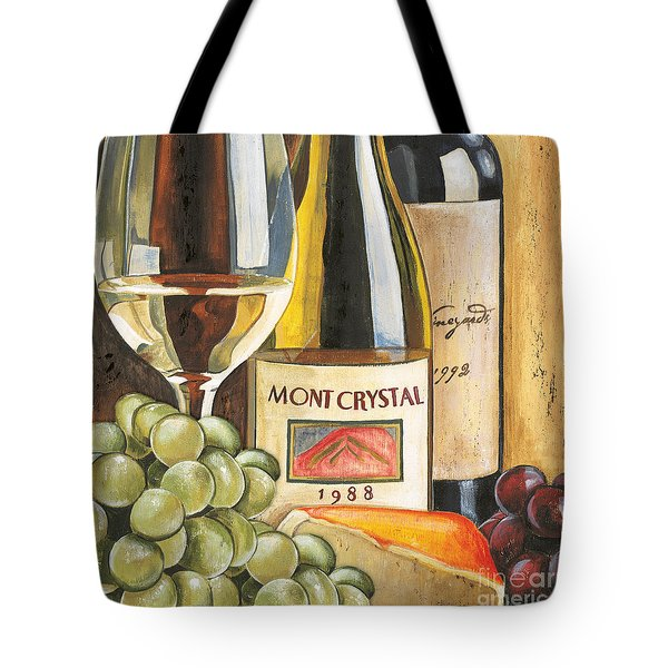 Mont Crystal 1988 Tote Bag by Debbie DeWitt