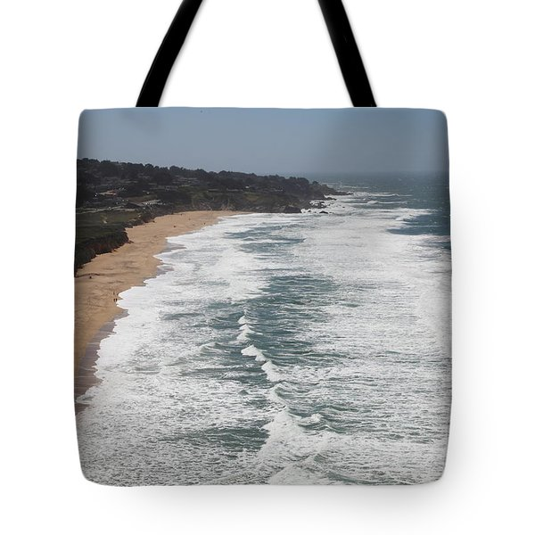 Montara State Beach Pacific Coast Highway California 5D22622 Tote Bag by Wingsdomain Art and Photography