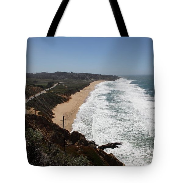 Montara State Beach Pacific Coast Highway California 5d22624 Tote Bag by Wingsdomain Art and Photography