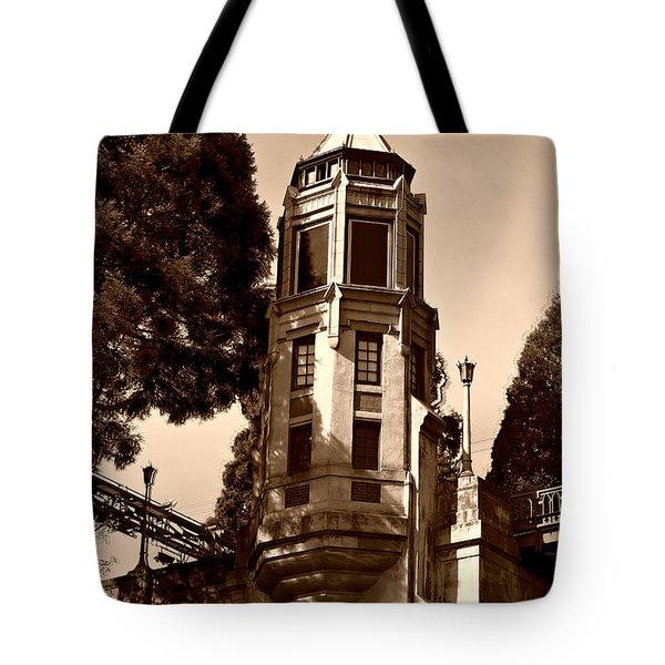 Montlake Bridge Tote Bag by Cheryl Young