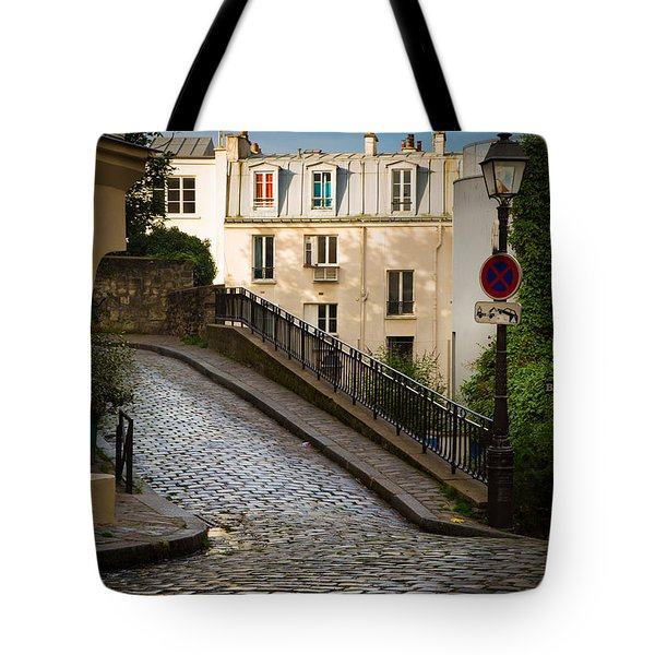 Montmartre Alley Tote Bag by Inge Johnsson