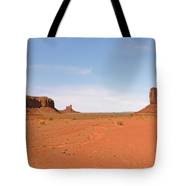 Monument Valley Navajo Tribal Park Tote Bag by Christine Till