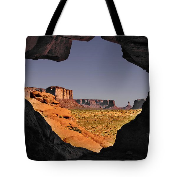 Monument Valley - The Untamed West Tote Bag by Christine Till
