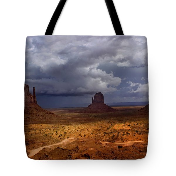 Monuments Of The West Tote Bag by Ellen Heaverlo