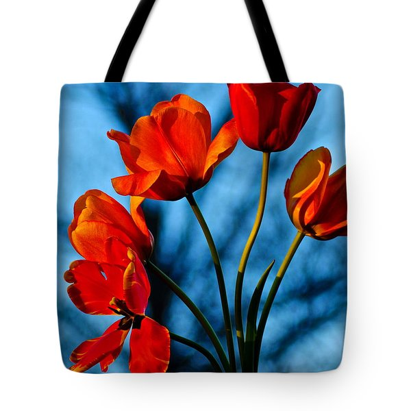 Mood Bouquet Tote Bag by Frozen in Time Fine Art Photography