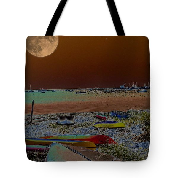 Moon Dreams Tote Bag by Robert McCubbin