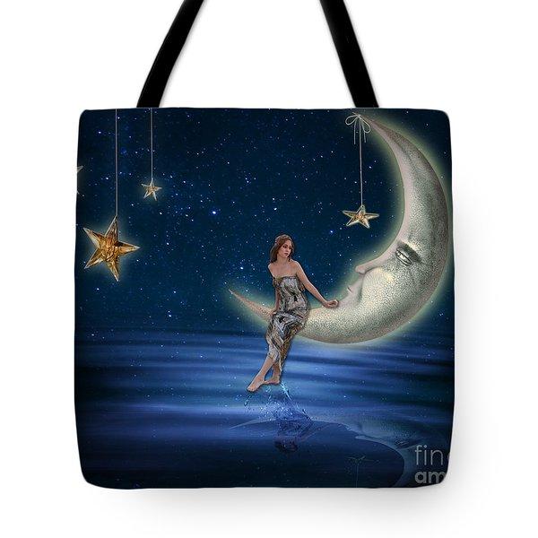 Moon Goddess Tote Bag by Juli Scalzi