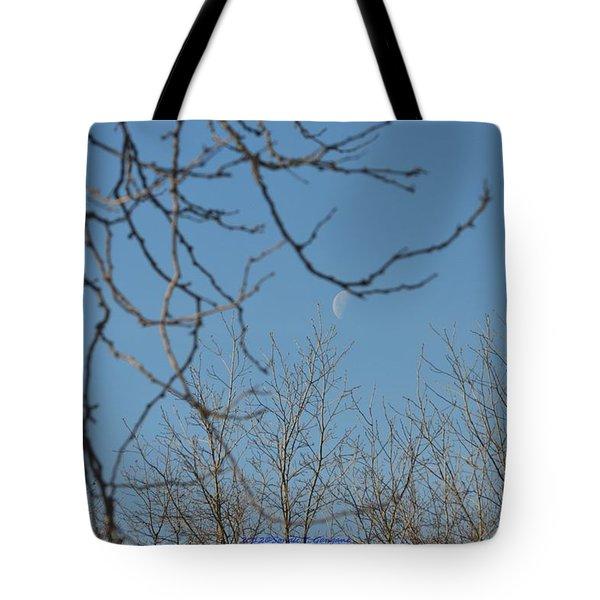 Moon On Treetop Tote Bag by Sonali Gangane