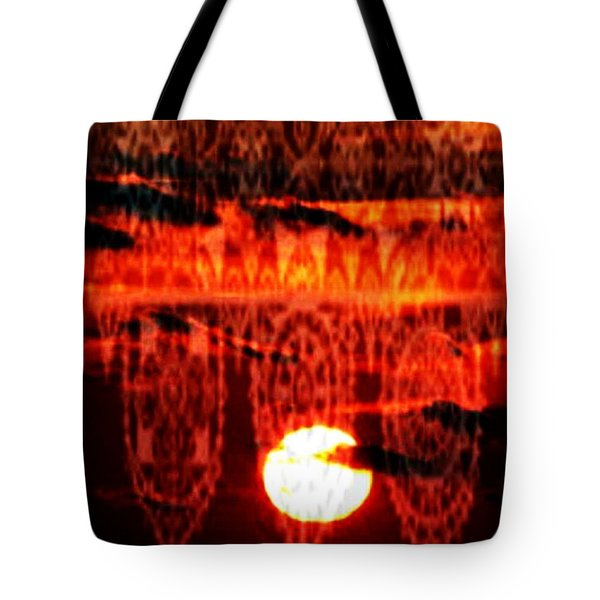 Moonlace Tote Bag by PainterArtist FIN