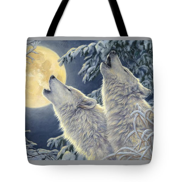 Moonlight Tote Bag by Lucie Bilodeau
