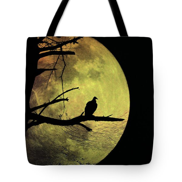 Moonlight Mile Tote Bag by Bill Cannon