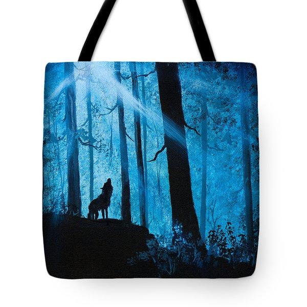 Moonlight Serenade Tote Bag by C Steele