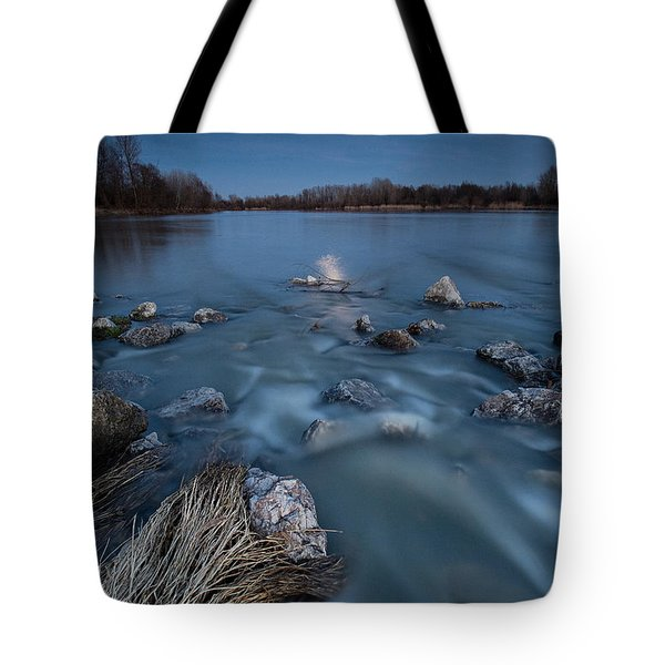 Moonlight sonata Tote Bag by Davorin Mance