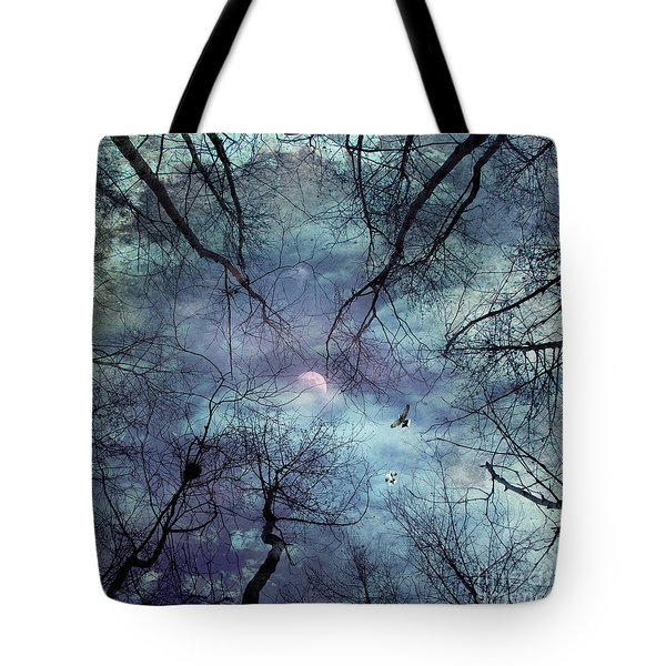 Moonlight Tote Bag by Stelios Kleanthous