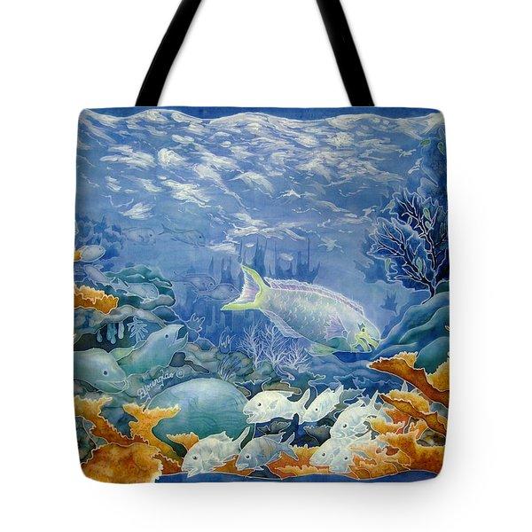 Moonlight Swim Tote Bag by Deborah Younglao