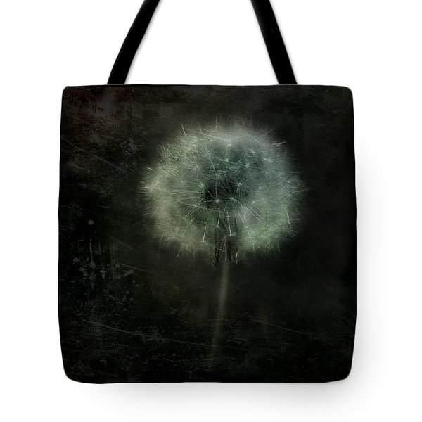 Moonlit Dandelion Tote Bag by Gothicolors Donna