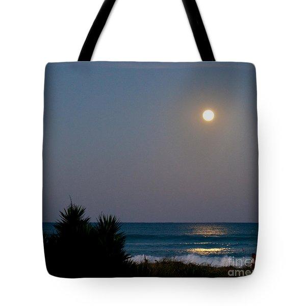 Moonlit Stroll Tote Bag by Michelle Wiarda
