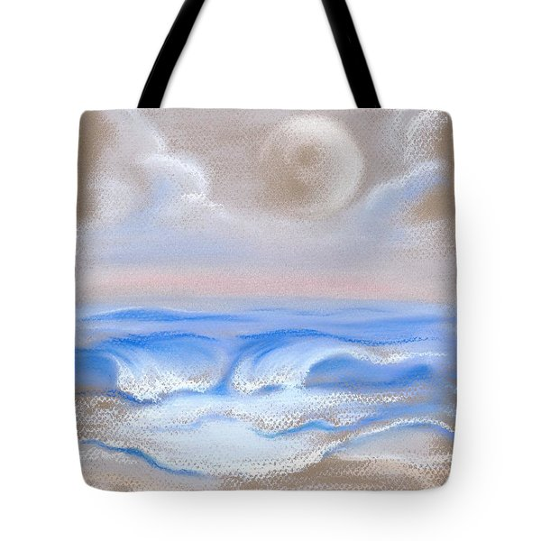 Moonrise Over Myrtle Beach Tote Bag by MM Anderson